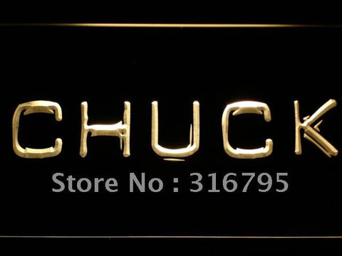 Chuck LED Neon Sign