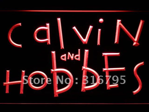 Calvin & Hobbes LED Neon Sign