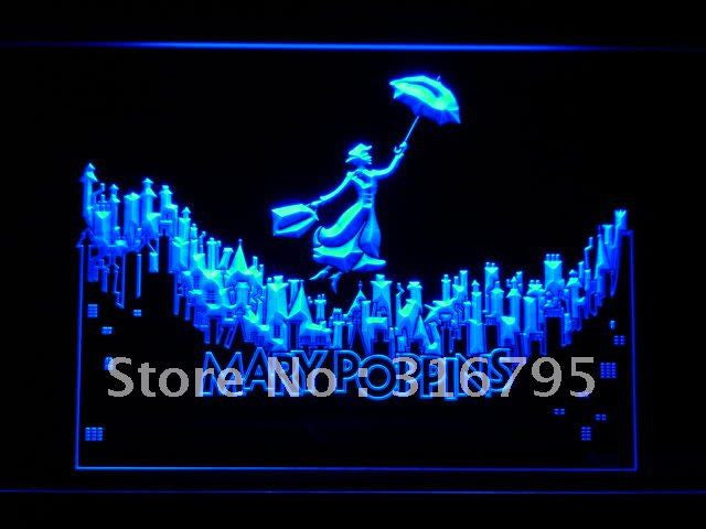 Mary Poppins LED Neon Sign