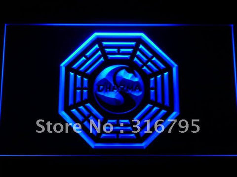 Dharma Initiative The Swan Lost LED Neon Sign