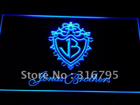 Jonas Brothers LED Neon Sign