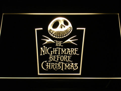 Nightmare before Christmas LED Neon Sign