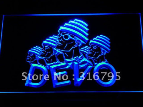 DEVO LED Neon Sign