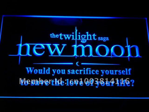 Twilight Saga New Moon LED Neon Sign