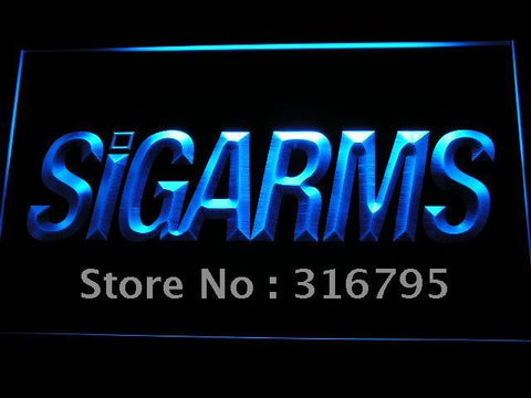 Sigarms Firearms Gun Logo LED Neon Sign