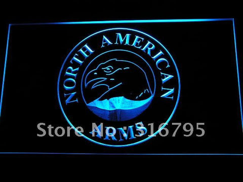 North American Arms Firearms Gun Logo LED Neon Sign
