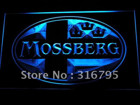 Mossberg Firearms Gun Logo LED Neon Sign
