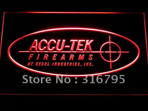 ACCU-TEK Firearms LED Neon Sign