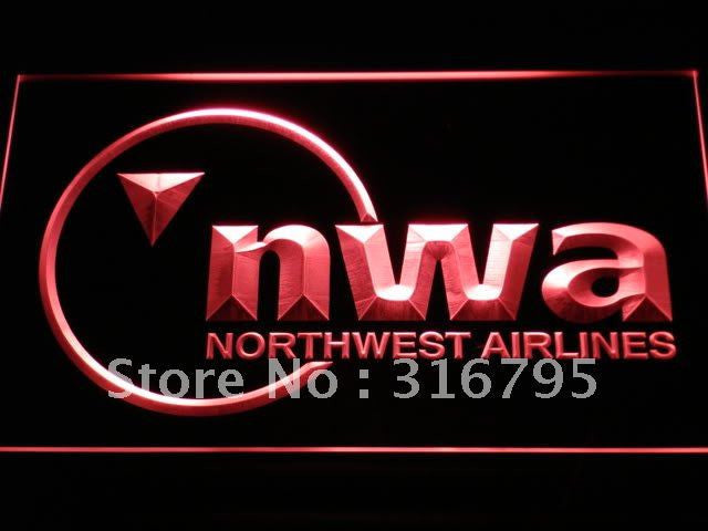 Northwest Airlines LED Neon Sign