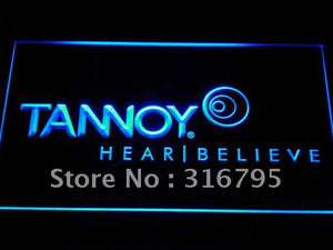Tannoy Speakers hi-fi Systems LED Neon Sign