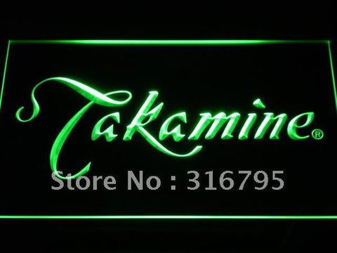 Takamine Guitar LED Neon Sign