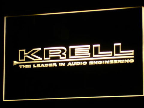 Krell Audio Home Theater Gift LED Neon Sign