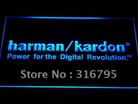 Harman Kardon Speakers Audio LED Neon Sign