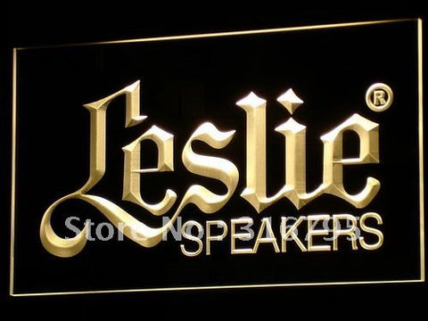 Leslie Speakers NEW Audio NR LED Neon Sign