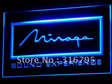 Mirage Loudspeaker System Audio LED Neon Sign