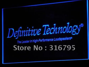 Definitive Technology Loudspeakers LED Neon Sign