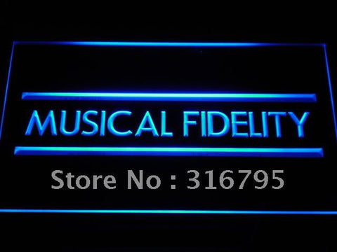 Musical Fidelity hi-fi Music NEW LED Neon Sign