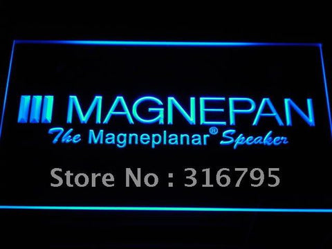 Magnepan Home Theater Speakers LED Neon Sign