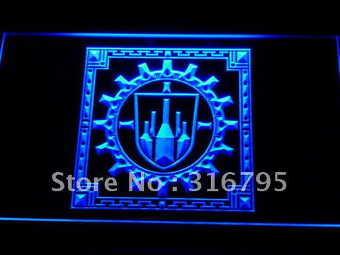 Bastok Flag FFXI Final Fantasy LED Neon Sign