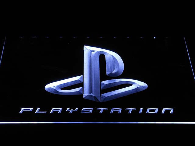Playstation LED Neon Sign