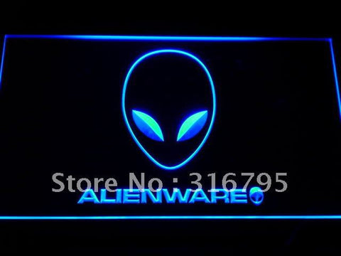Alienware Services LED Neon Sign