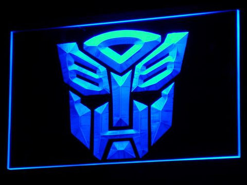 Transformers Autobot Robot LED Neon Sign