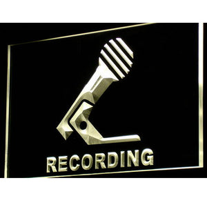 Recording Microphone On Air NEW LED Neon Light Sign