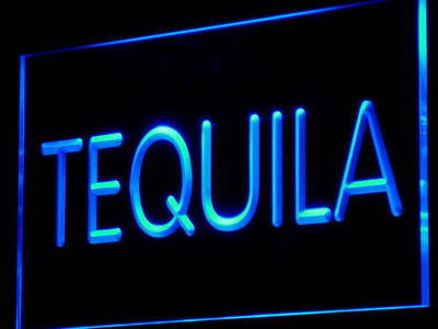 Tequila Wine Beer Bar Pub Club Decor Neon Light Sign