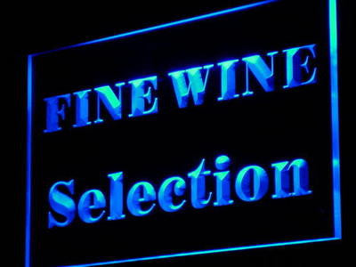Fine Wine Selection Beer Bar NEW Decor Neon Light Sign