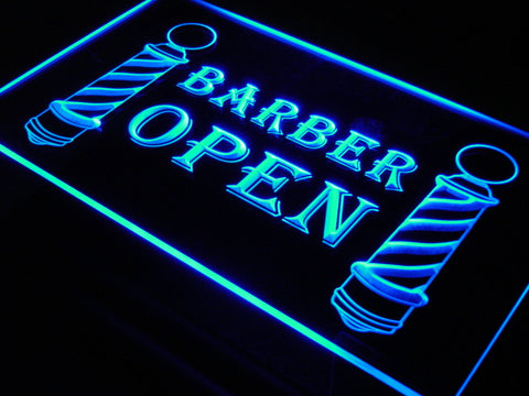 Barber Poles Display Hair Cut Light Sign