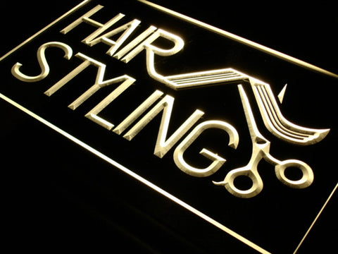 Hair Styling Salon LED Neon Light Sign