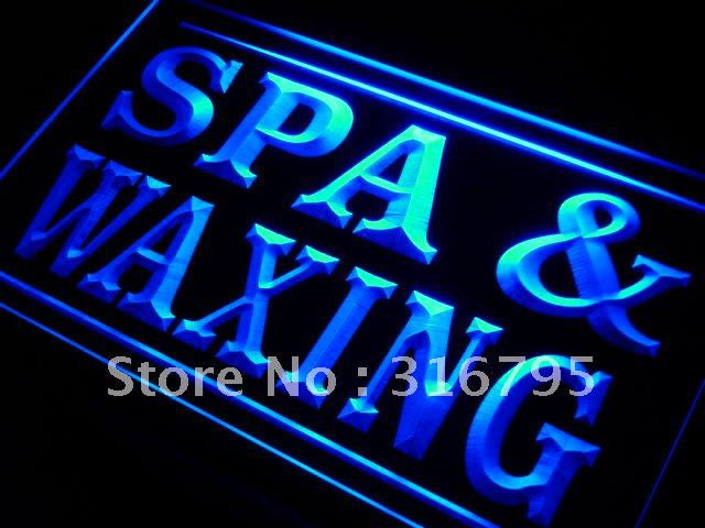 Spa and Waxing Beauty Salon LED Neon Light Sign