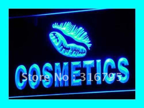 Cosmetics Beauty Enseigne Lumineuse Light Sign