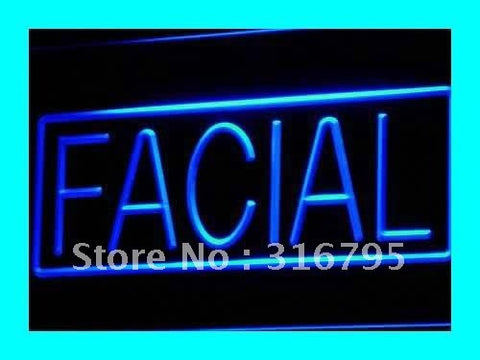 Facial Shop Beauty Salon Display LED Neon Light Sign