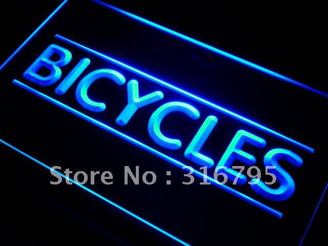 Bicycles Shop LED Neon Light Sign