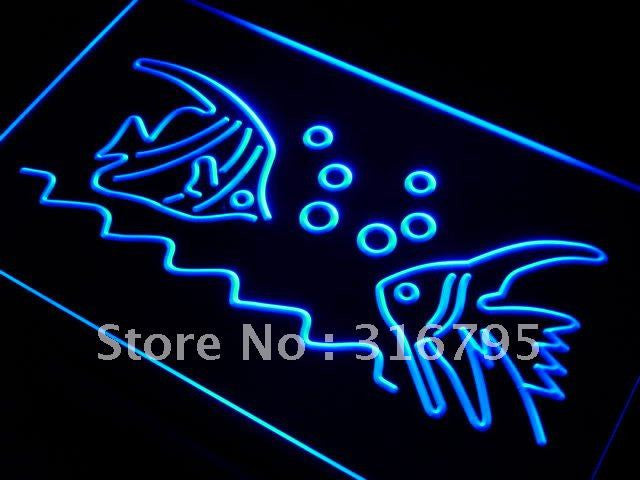 Aquarium Fish Shop LED Neon Light Sign