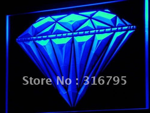 Diamond Shop Display Jewelry LED Neon Light Sign