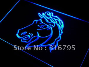 Horse Head Display LED Neon Light Sign