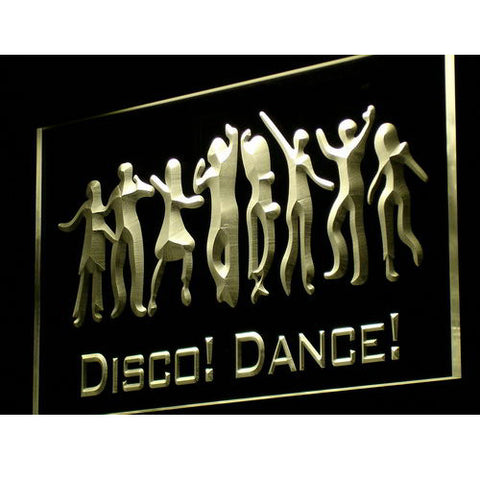 Disco Dance DJ Neon LED Light Sign