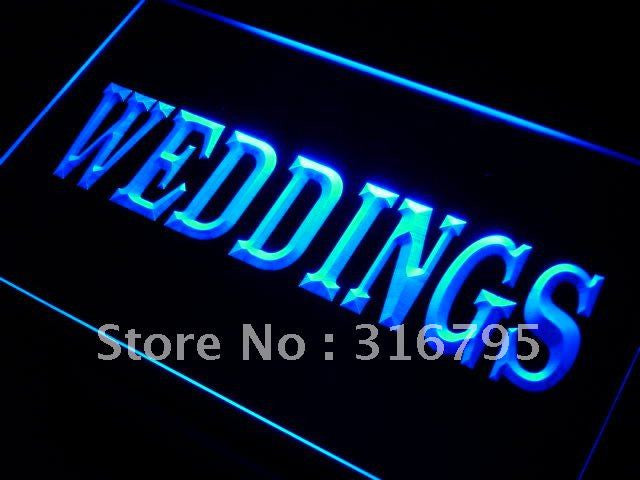 Weddings Services Neon Sign (Shop LED Light)