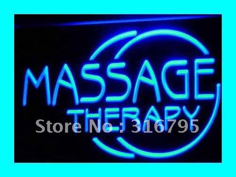 Massage Therapy Neon Sign (OPEN Body LED Light)