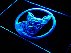 Chihuahua Dog Pet Shop Neon Sign (Breed LED Light)