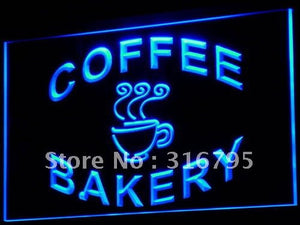 Bakery Coffee Shop Cup Neon Sign (Light Display LED)