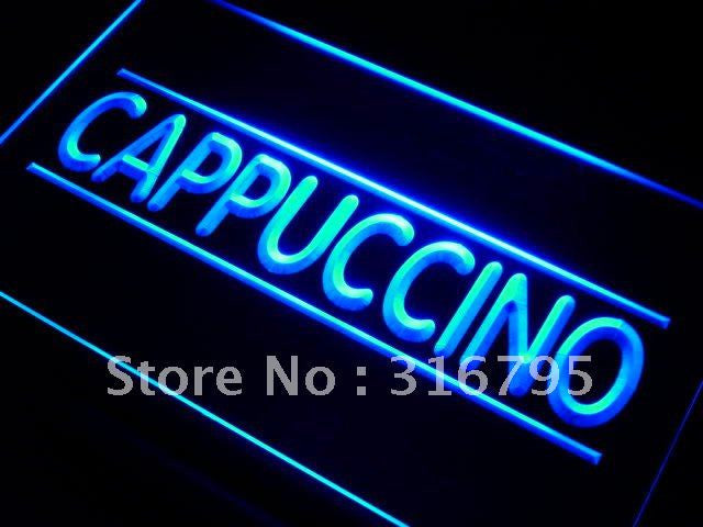 Cappuccino Neon Sign (Coffee Shop LED Light)
