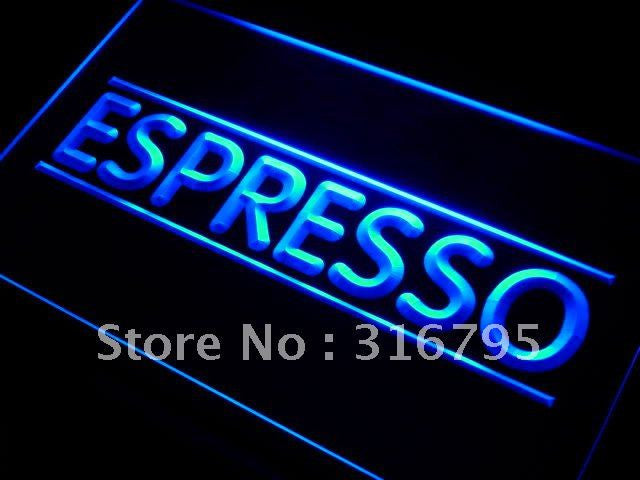 Espresso Neon Sign (Coffee Shop LED Light)