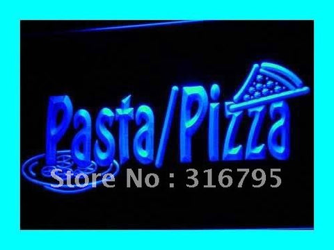 Pasta/Pizza Neon Sign (Shop Cafe Slice Bar LED Light)