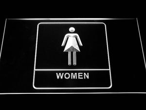 Women Restroom Neon Sign (Female Girl Toilet Washroom Display LED Light)