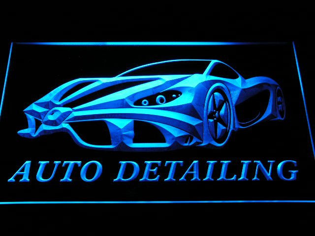 Auto Detailing Neon Sign (LED)