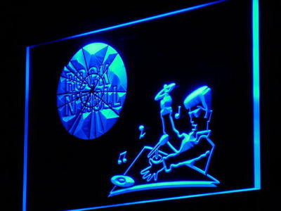 DJ Disc Jockey Neon Sign (Rock n Roll Disco Light)