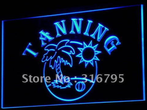 Tanning Neon Sign (Tan Shop Beauty Salon NR Light)